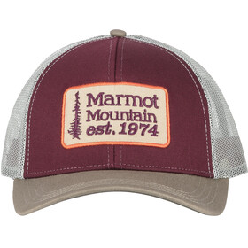 Marmot Retro Trucker Hat Burgundy/Cavern